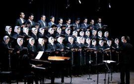 گروه کر «پارسه» در رتبه دوم