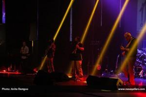 فرشید اعرابی خواننده، آهنگساز و نوازنده با سابقه موسیقی هوی متال که در  این حیطه در کشورمان بدعتگذار است، بار دیگر با اجرای گلچین آثاری از سه آلبوم رسمی خود، در برج آزادی از مخاطبانش پذیرایی کرد و جان تازهای به موسیقی هوی متال داد.