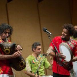 همراهی یک نوازنده جانباز با گروه موسیقی لیان