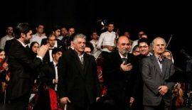 ارکستر فیلارمونیک سونات به اجرای قطعات محمدرضا درویشی پرداخت