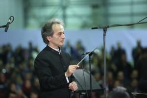 استقبال کم نظیر از ارکستر سمفونیک تهران در آبادان