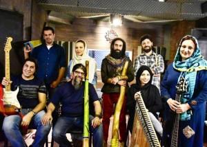 اجرای کنسرت گروه پیلدم در شب شنبه ها به نام موسیقی برای صلح