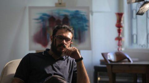 """مصاحبه با امیرحسین احمد زاده خواننده گروه """"سایه تاب"""""""