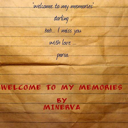 قطعه welcome to my memories