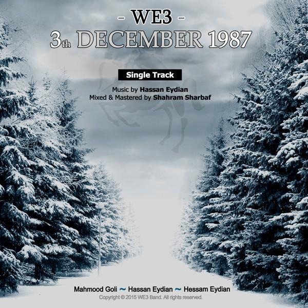 دانلود قطعه 3th december 1987 از we3 band