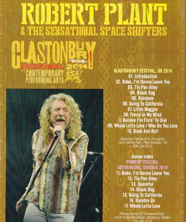 Robert Plant – Glastonbury Festival 2014